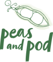Peas and Pod Logo